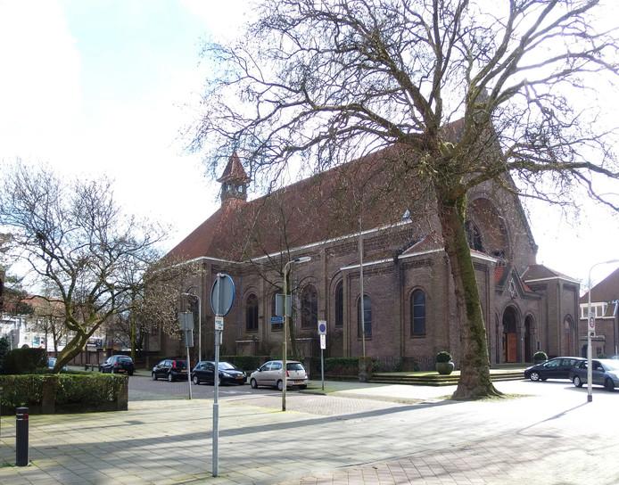 De Margarita Mariakerk aan de Ringbaan-West in Tilburg.