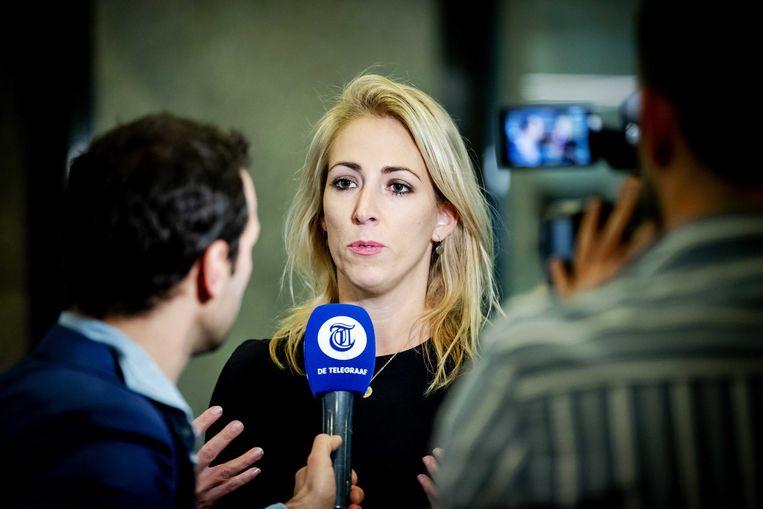 SP-leider Lilian Marijnissen.  Beeld ANP - Robin van Lonkhuijsen