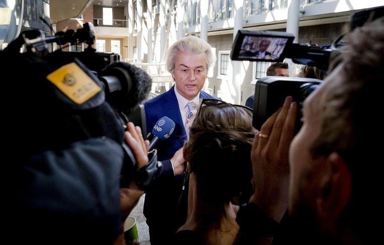 Wilders: drie informateurs. Beeld afp