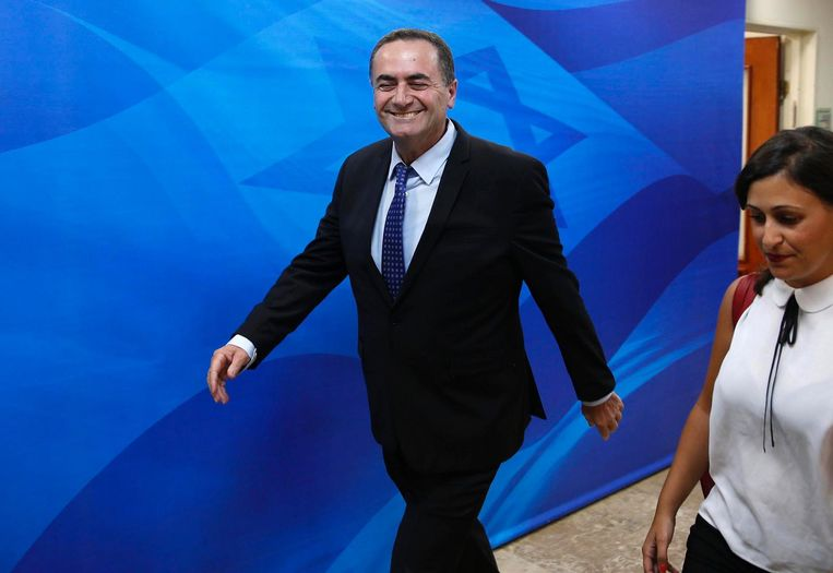 De Israëlische minister van vervoer Yisrael Katz Beeld afp