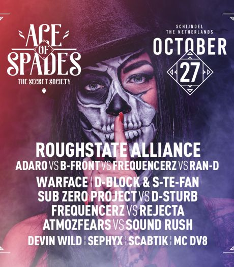 Ace of Spades in Schijndel is dit keer al eind oktober