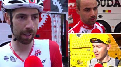 """Giro-Belgen reageren na openingstijdrit: """"Vandaag was een test. En de test is geslaagd"""""""