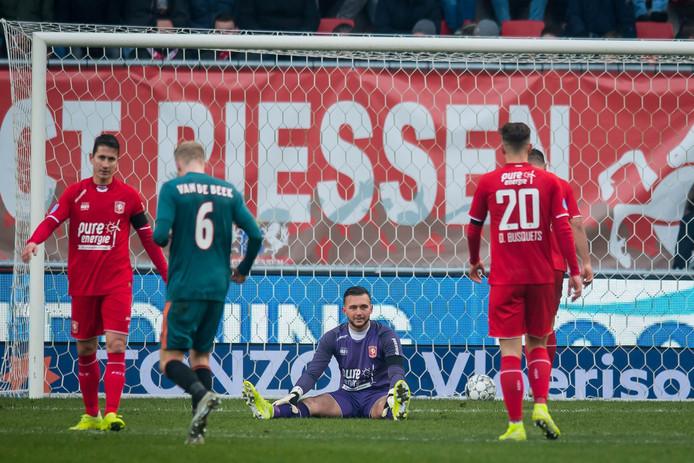 Treurnis bij FC Twente als Ajax de wedstrijd heeft beslist.
