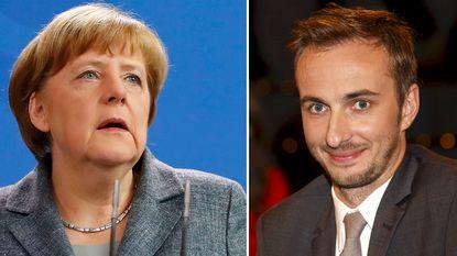 """Komiek Böhmermann scherp voor Merkel: """"Ze heeft me bij de thee geserveerd aan despoot"""""""