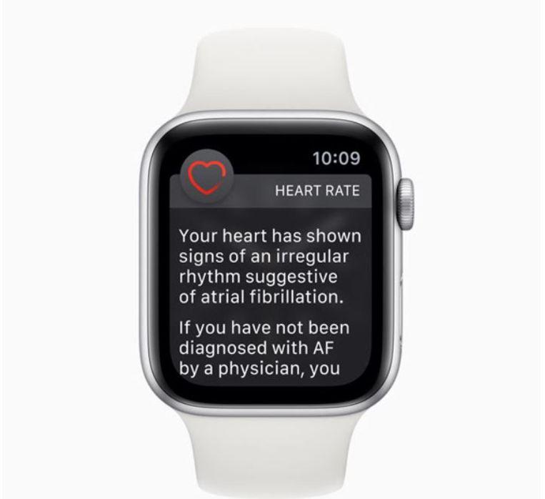 Apple Watch met ECG-functie Beeld Apple