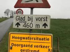 Fiets- en wandelpad over stuw Vechterweerd dicht wegens hoogwater