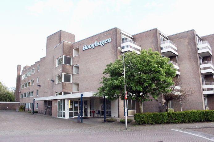 Het voormalig woonzorgcentrum Hooghagen aan de Havezatenlaan in Hengelo
