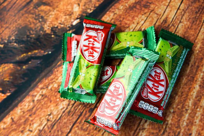 In Japan is de groene matchaversie heel populair.