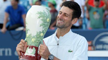 Ein-de-lijk: Novak Djokovic pakt titel in Cincinnati en maakt indrukwekkende reeks compleet