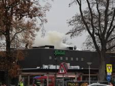 Uitslaande brand bij Lucky in Rijssen snel onder controle