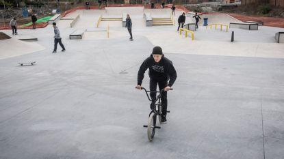 Recreatieve sportterreinen en skatepark weer open