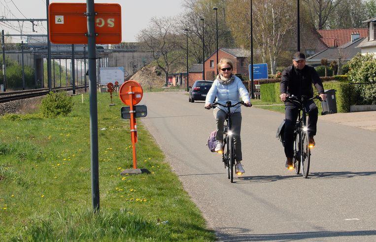 Op deze plek komt een deel van de fietsostrade Herentals-Balen.