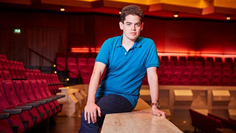 Lahav Shani, de nieuwe chef van het Rotterdams Philharmonisch Orkest. Beeld Hollandse Hoogte / Jan de Groen