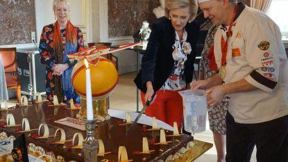 Bakkerij Sint-Anna serveert taart op koninklijk paleis voor 15-jarig bestaan van het Agentschap van Buitenlandse Handel