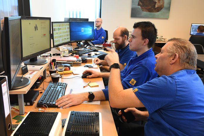 De ontwikkelafdeling van Contecto.