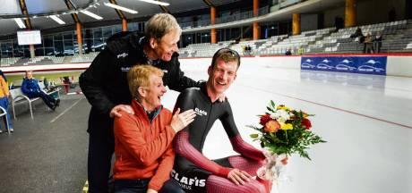 Op 'goedkope woensdag' schaatste Erik Jan Kooiman zich de geschiedenisboeken in