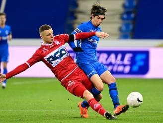 """Timothy Derijck baalt na verlies KV Kortrijk: """"We waren precies niet wakker tegen Genk"""""""