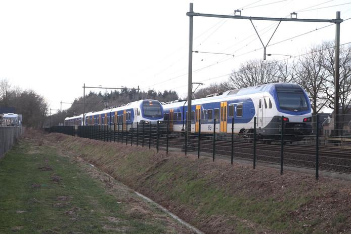 Treinen bij Deurne.