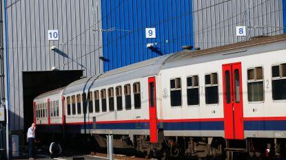 Jongeren vernielen trein in Comblain-au-Pont