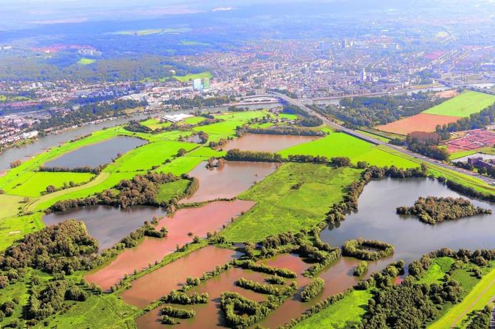 Meinerswijk vanuit de lucht. Foto DG