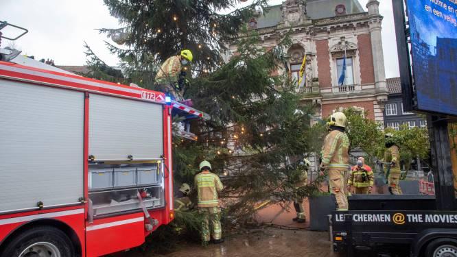 Brandweer heeft handen vol met schade door storm Bella: rukwinden tot 100 km/u, veel regen en sneeuw in de Ardennen