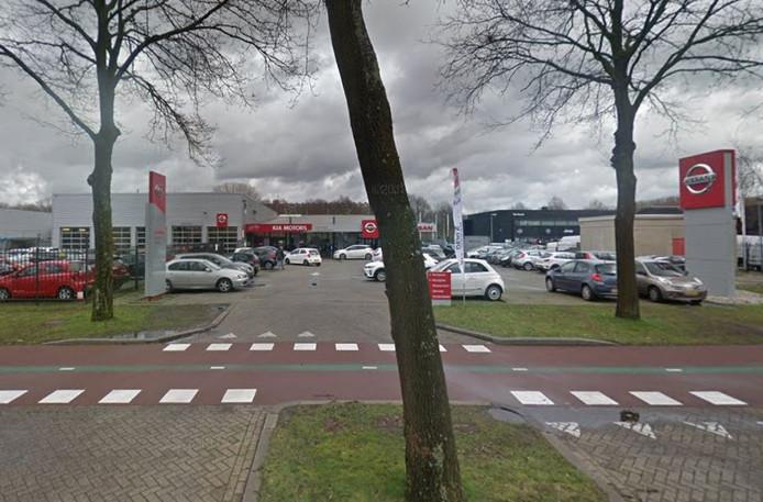 De vestiging van Leendert van den Born in Tilburg.