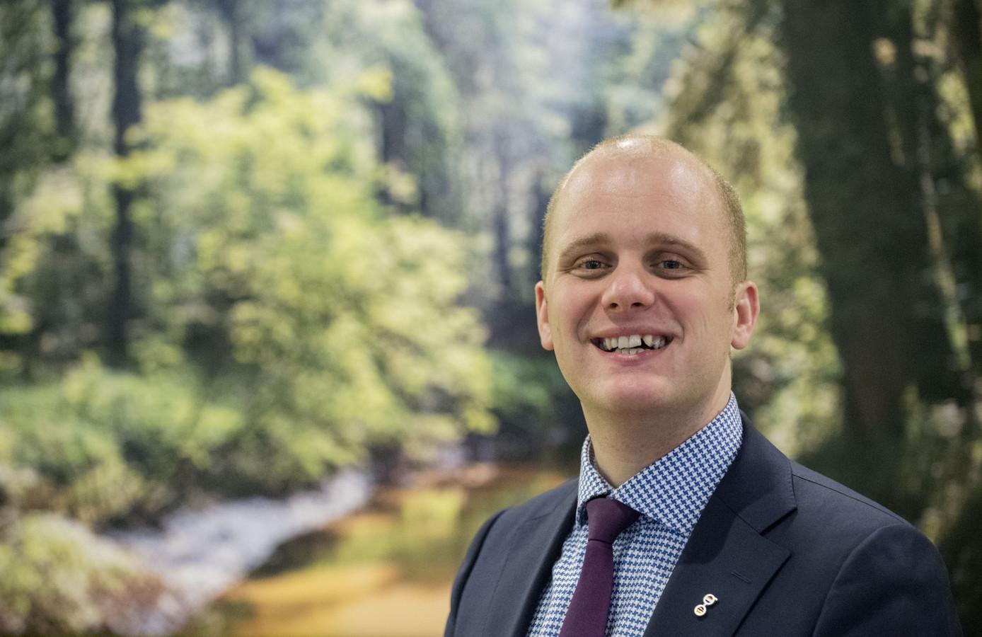 Burgemeester Joris Bengevoord. Wie wil met hem mee naar het Prinsjesfestival?