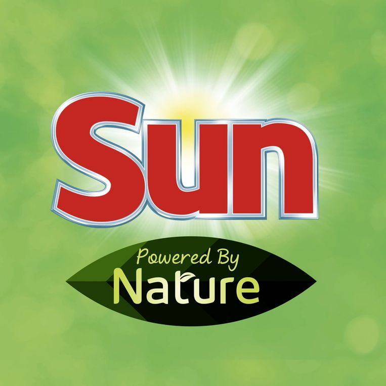 Sun-vaatwastabetten 'Powered By Nature'. Beeld