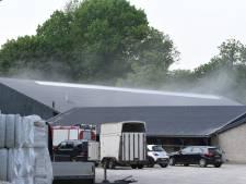 Brand in Utrechtse Manege, paarden mogelijk in gevaar