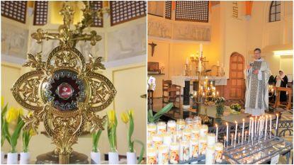 Na het bloed van Paus Johannes Paulus II: Zusters-begijnen Sacramentinen halen met haarlok van Moeder Teresa opnieuw relikwie naar Halle