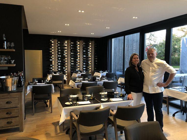 Isabelle en Kurt in hun restaurant Greenroom.