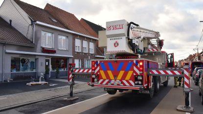 Electriciteitskabel brandt, gelukkig daags na opendeurdag