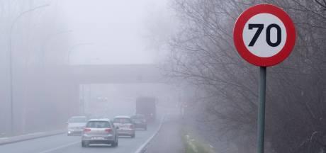 Alerte jaune au brouillard à Bruxelles et dans le Brabant wallon
