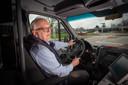 Voorzitter Han Scholten van de buurtbusvereniging Rijk van Nijmegen.