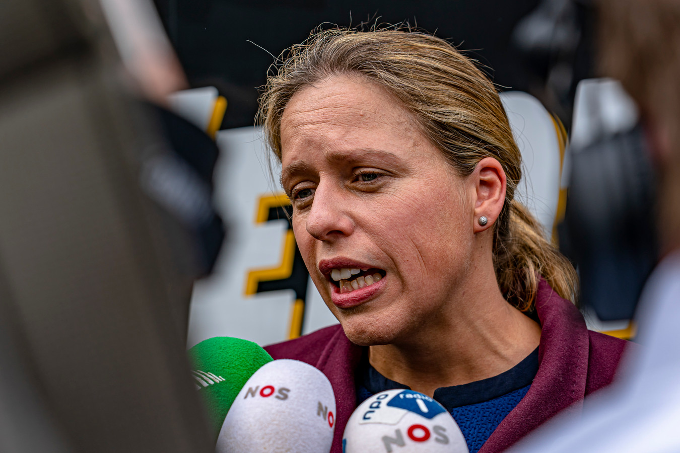 Minister Carola Schouten liet de boeren weten dat wat haar betreft de veestapel niet gehalveerd zal worden.