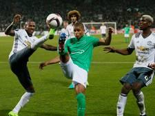 Tien man United winnen bij Saint-Etienne