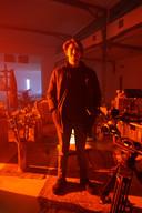 Tilburgse regisseur Guust Mulder op de set van Alaraph.
