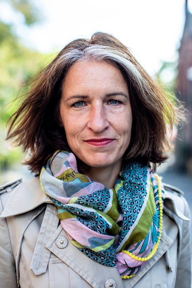 Heleen Rouw: 'Door corona was ik plots niet meer de enige die in een nieuwe situatie zat.' Beeld Nosh Neneh