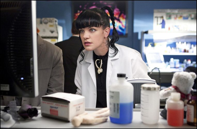 Pauley Perrette als Abby in 'NCIS'