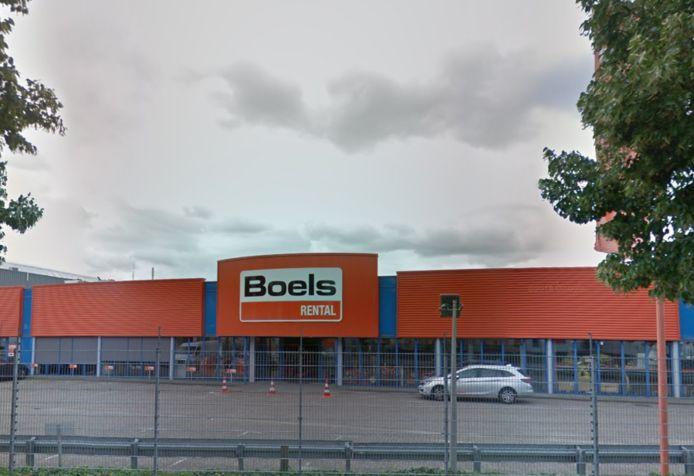Het exterieur van Boels in Sittard