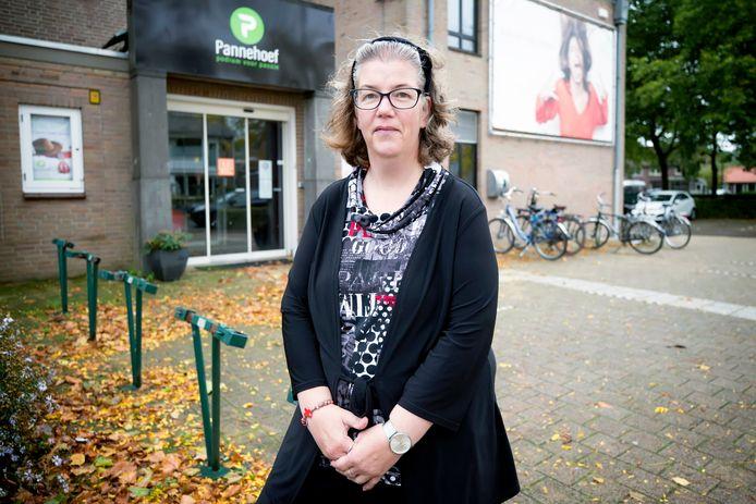 Jolanda herinnert zich nog dat ze met de hele familie carnaval vierden in de Pannehoef in Oosterhout.