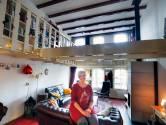 Cisca woont in een voormalig pakhuis in de Gorcumse binnenstad: 'Ik werd verliefd op dit huis'