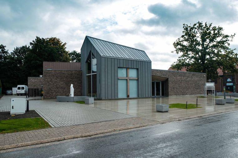 De nieuwe kerk in Lutselus.