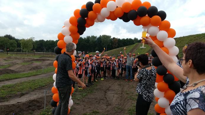 Opening van het Bikefun-park in Liessel.
