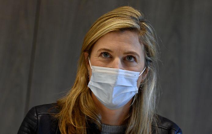 Annelies Verlinden (CD&V), la ministre de l'Intérieur