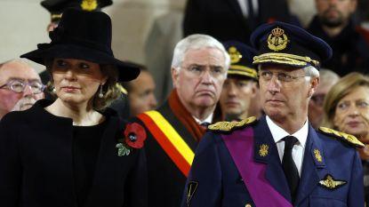 Koning Filip leidt herdenkingen in België