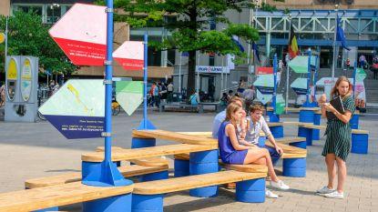 Blauwe bankjes gidsen je langs hotspots Noordwijk