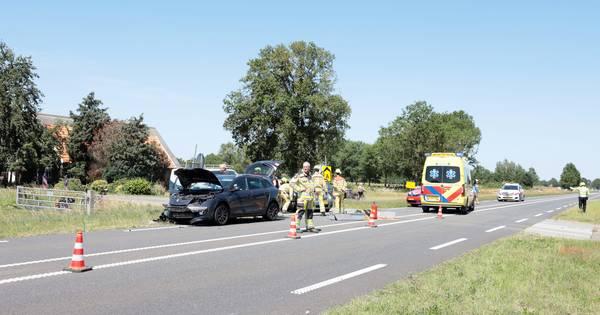 Gewonden bij aanrijding tussen auto's bij Dalmsholte.