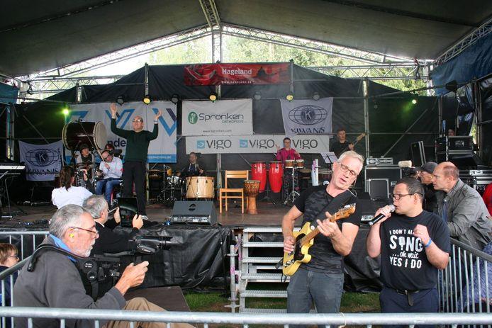 De Bempt Band in actie
