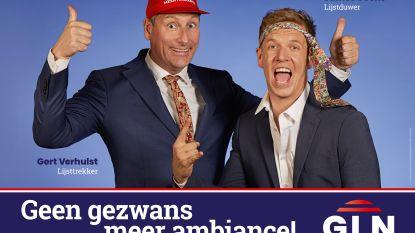 Gert en James stappen (voor de zwans) in de politiek